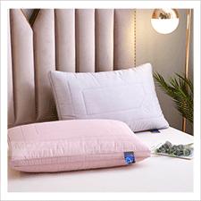 生姜暖绒抗菌枕